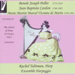 Pollet, Cardon, Marin : L'Ecole de la Harpe Vol.3