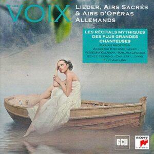 Lieder, airs sacrés et airs d'opéras allemands