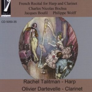 Boscha, Bouffil, Wolff: French Recital For Harp And Clarine