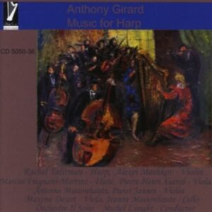 Girard, Anthony: Music For Harp