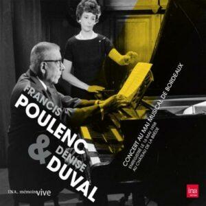 Denise Duval : Concert au Mai musical de Bordeaux.