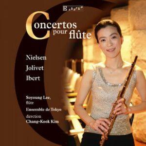 Nielsen, Jolivet, Ibert, Kennan : 3 Grands Concertos pur flûte