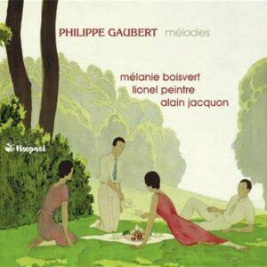 Gaubert : Mélodies. Boisvert, Peintre, Jacquon.