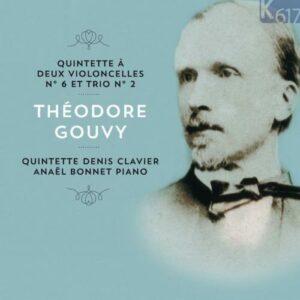 Gouvy : Quintette à 2 violoncelles. Clavier, Bonnet.