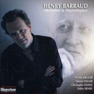 Barraud : Six impromptus pour piano. Krüger.