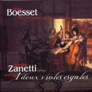 Boesset : Airs. Zanetti.
