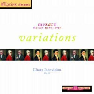 Chara Iacovidou : Mozart, Haydn, Beethoven.