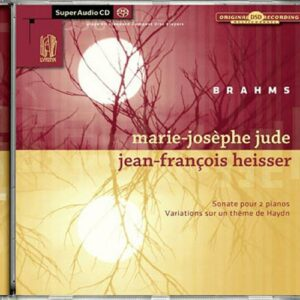 Brahms : Sonate pour deux pianos. Jude, Heisser.