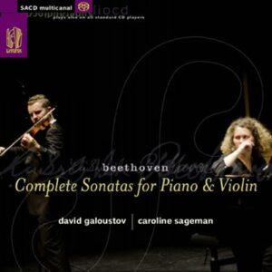 Beethoven : Les sonates pour piano etviolon. Galoustov, Sageman.