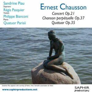 Chausson : Concerto, op. 21. Piau, Pasquier.
