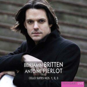Britten : Suites pour violoncelle. Pierlot.