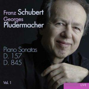Schubert : Piano Sonatas D.157 & 845