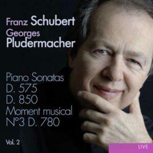 Schubert : Piano Sonatas D.575 & 850