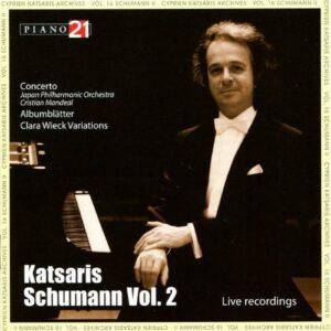 Schumann, Live Recording Vol.2 - Cyprien Katsaris