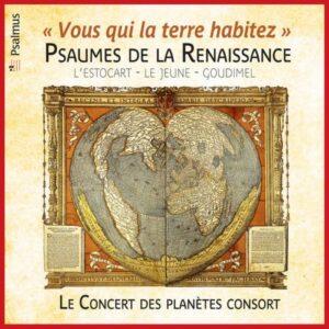 Psaumes de la Renaissance : Le Concert des planètes consort.