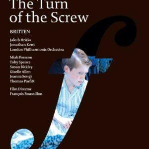 Britten : Le Tour d'Ecrou. Persson, Hrusa.