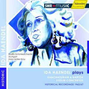 Ida Haendel joue Khachaturian et Bartok