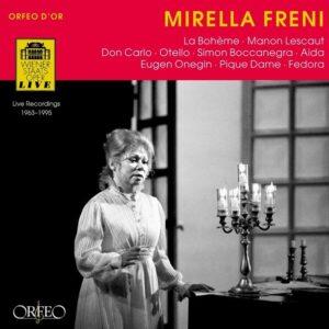 Mirella Freni à l'Opéra de Vienne.
