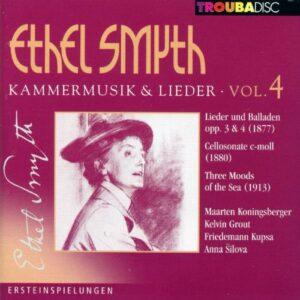 Ethel Smyth : Musique de chambre & Lieder, vol. 4