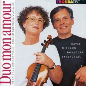 Duo mon amour - Sonates pour violon et violoncelle, Duo Edition 1