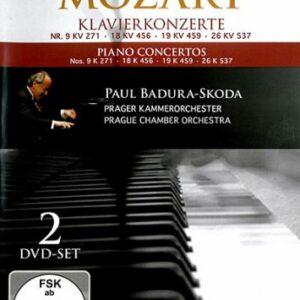 Concertos pour piano n°9, n°18, n°19, n°26
