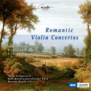 Concertos pour violon romantiques : Wagner,Pfitzner.