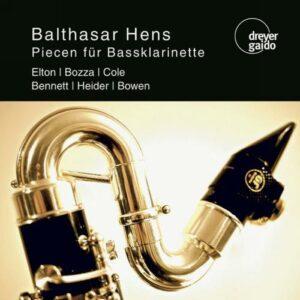 Balthasar Hens, clarinette basse : Pièces pour clarinette basse