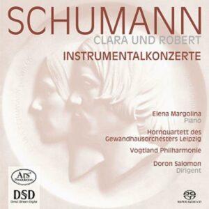 Clara et Robert Schumann : Instrumentalkonzerte