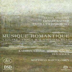 Anton Arenski - Ernest Sauter- Piotr Ilytch Tchaïkovski : Musique romantique