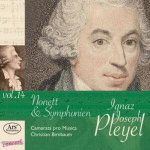 Ignaz Joseph Pleyel : Nonette et Symphonies