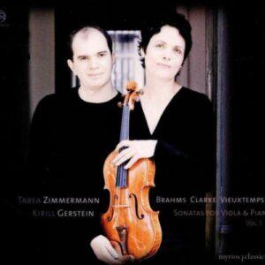 Tabea Zimmermann : Clarke, Vieuxtemps, Brahms. Gerstein.