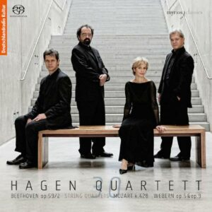 Quatuor Hagen : Beethoven, Mozart, Webern.
