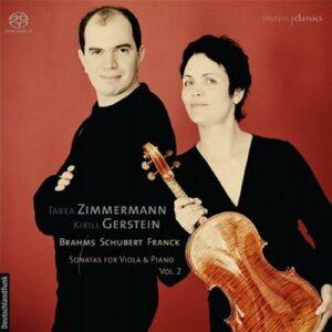 Tabea Zimmermann : Sonates pour Viole et piano, Vol. 2.