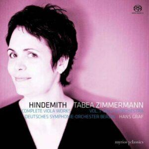 Hindemith : L'Oeuvre pour alto, vol. 1. Zimmermann, Gref.