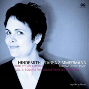 Hindemith : Sonates pour alto