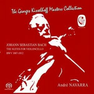 Bach : Suites pour violoncelle, BWV1007-1012. Navarra.