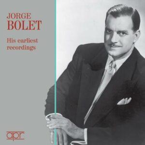 Jorge Bolet, ses premiers enregistrements