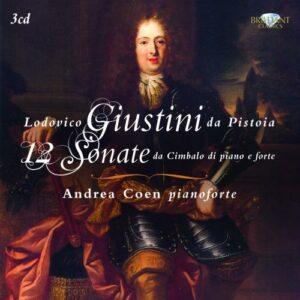 Giustini da Pistoia : 12 Sonate pour le pianoforte. Coen.