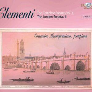 Muzio Clementi : Sonates pour piano (Intégrale, volume 4)