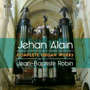 Alain : L'œuvre pour orgue. Robin, Alain.