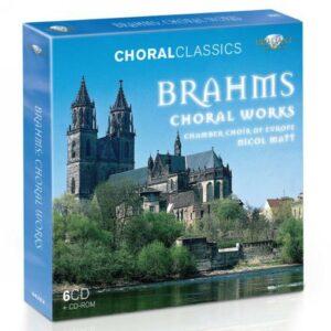 Johannes Brahms : Œuvres chorales