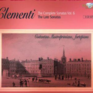 Muzio Clementi : Sonates pour piano (Intégrale, volume 6 - Les dernières sonates)