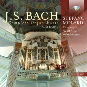 Bach : Musique pour orgue (Intégrale - volume 1)