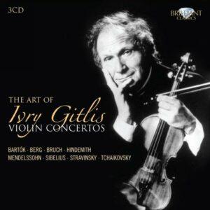 Ivry Gitlis, violon : L'Art de Ivry Gitlis : Concertos pour violon