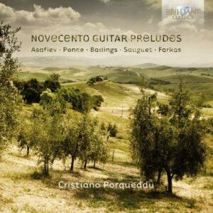 Cristiano Porqueddu, guitare : Novecento Guitar Preludes
