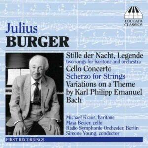 Burger : Concerto pour violoncelle.