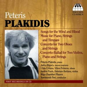 Plakidis : Songs for the Wind and Blood