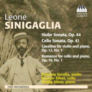 Sinigaglia : Sonate pour violon. Soroka.