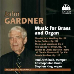 John Gardner : Musique pour cuivres et orgue