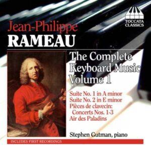 Rameau : L'œuvre pour piano, vol. 1. Gutman.